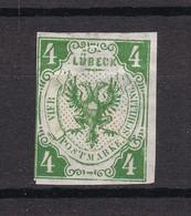 Luebeck - 1859 - Michel Nr. 5 - Ungebr. - Lübeck