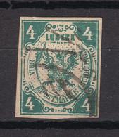 Luebeck - 1859 - Michel Nr. 5 - Fälschung - Gestempelt - Lübeck