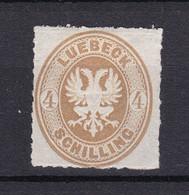 Luebeck - 1863/67 - Michel Nr. 12 A - Ungebr. - 70 Euro - Lubeck