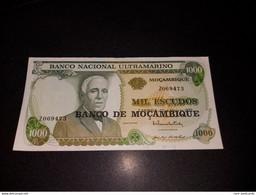 MOZAMBIQUE 1000 ESCUDOS 1972. AUNC - REPLACEMENT Z - Mozambique