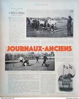 1900 FOOTBALL RUGBY FRANCO ALLEMAND - LES SPORTS À L'EXPOSITION ( LES JEUX OLYMPIQUES ) - 1900 - 1949