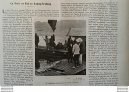 1904 LA MORT DU ROI DE LUANG PRABANG - LAOS - S. M. ZAKARINE - 1900 - 1949