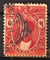 ZANZIBAR 1913 - Canceled - Sc# 122 - 6c - Zanzibar (1963-1968)