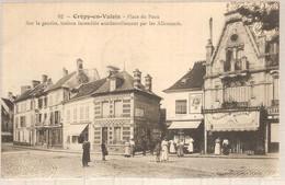 60 - Crépy-en-Valois (oise) - Place Du Paon - Crepy En Valois