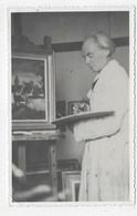 (RECTO / VERSO) ARTISTE PEINTRE - CARTE PHOTO FORMAT CPA - 75 - Fotografía