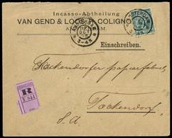 1908, Niederlande, 41 B, Brief - Ohne Zuordnung