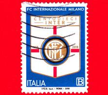 ITALIA - Usato - 2018 - 110 Anni Dell'Inter Football Club – Logo – B - 2011-...: Usados