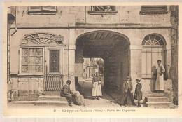 60 - Crépy-en-Valois (oise) -  Porte Des Capucins - Crepy En Valois