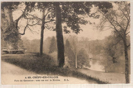 60 - Crépy-en-Valois (oise) -  Parc De Geresmes ; Une Vue Sur La Rivière - Crepy En Valois