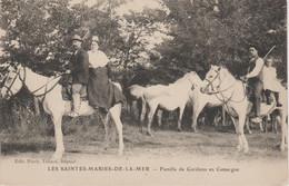 FAMILLE DE GARDIENS EN CAMARGUE - Saintes Maries De La Mer