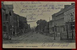 CPA 1906  La Louvière, Rue De Houdeng - La Louvière