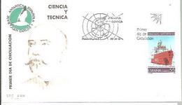 POSTMARKET  ESPAÑA 1991 - Research Stations