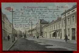CPA La Louvière Pittoresque - Rue Hamoir 1915 - La Louvière