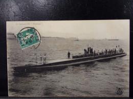 662 . MILITARIA . LE SUBMERSIBLE . PRAIRIAL   . NAVIRE DE GUERRE . 1910 - Warships