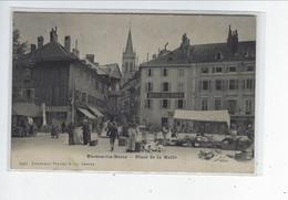 DEP. 74 THONON-LES-BAINS N°5266 PLACE DE LA HALLE Précurseur - Thonon-les-Bains