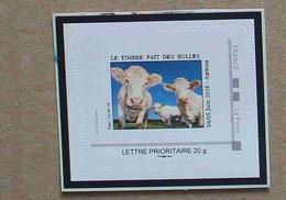 P3-C6 : Les 21ès Rendez-Vous De La Bande Dessinée D'Amiens - Vache ( Autoadhésif / Autocollant ) - Personnalisés