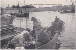 29. CONCARNEAU. Marins Préparant La Cautriade Au Retour De La Pêche. 6267 - Concarneau