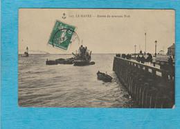 Le Havre. - Entrée Du Nouveau Port. - Porto