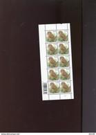 Belgie Buzin Vogels Birds Nr 3956 0.10€ MATTE GOM RR MNH Plaatnummer 2 - 1985-.. Oiseaux (Buzin)