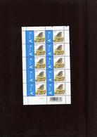 Belgie Buzin Birds 3749 Volledig Vel Mnh Plaatnummer 2 - Hojas