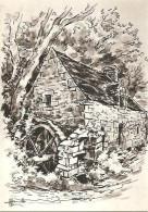 CPM - ILLUSTRATION HOMUALK - Nos Vieux Moulins - Edition Artaud Gabier / N°10 - Homualk