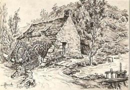CPM - ILLUSTRATION HOMUALK - Nos Vieux Moulins - Edition Artaud Gabier / N°5 - Homualk