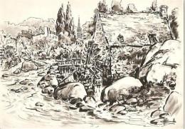 CPM - ILLUSTRATION HOMUALK - Nos Vieux Moulins - Edition Artaud Gabier / N°6 - Homualk
