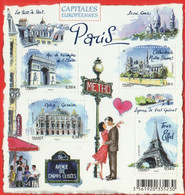 FRANCE 2010 F 4514 CAPITALES EUROPÉENNES PARIS Timbre NEUF - Mint/Hinged