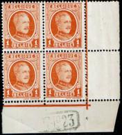 190  Bloc 4  **  Dépôt 1923 - 1922-1927 Houyoux