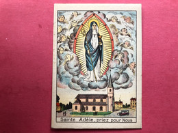 Sainte Adèle Priez Pour Nous - Église Sainte Adèle Orp-le Grand (?) Imprimatur Namurci 1929 édit Charleroi - Images Religieuses