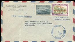 06044 Honduras LUPO Brief - Lüstringen Osnabrück 1954 - Honduras