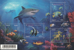 FRANCE 2012  F 4646 Poissons Tropicaux Timbre NEUF - Mint/Hinged