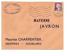 MARNE / HAUTE Dépt N° 52 = St DIZIER Ppal 1962 =  FLAMME Non Codée = SECAP Muette '5 Lignes Ondulées - Mechanical Postmarks (Advertisement)