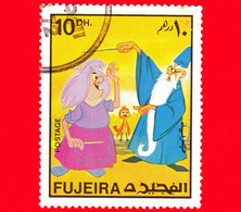 Emirati - FUJEIRA - Usato - 1972 - Personaggi Disney - Merlino Il Mago E Madam Mikmak - 10 - Fujeira