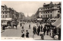 CPA ROYAUME UNI - LONDON - 138. Oxford Circus - LL - UK Old Postcard - Otros