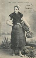 CPA 29 FINISTERE - Ile Tudy Pêcheuse De Coquillage - Costumes - Folklore - Ile Tudy