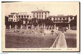 CPA Bandol Grand Hotel Et Hotel Des Bains - Bandol