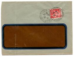 MARNE / HAUTE Dépt N° 52 = SAINT DIZIER ENTREPOT 1937 = Cachet Manuel A4 - Manual Postmarks
