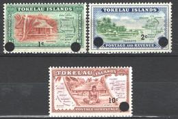 Tokelau 1967 Y.T.9/11 **/MNH VF - Tokelau