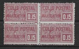 France Colis Postaux N°16 - Bloc De 4 - Neuf ** Sans Charnière - TB - Neufs