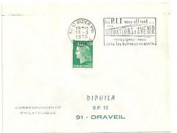 MARNE / HAUTE Dépt N° 52 = St DIZIER Ppal 1970 =  FLAMME Codée SUPERBE = SECAP ' Les PTT Vous Offrent SITUATIONS ... - Mechanical Postmarks (Advertisement)