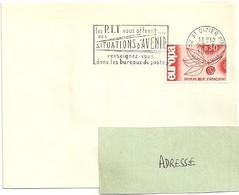 MARNE / HAUTE Dépt N° 52 = St DIZIER Ppal 1966 =  FLAMME Codée SUPERBE = SECAP ' Les PTT Vous Offrent SITUATIONS ... - Mechanical Postmarks (Advertisement)