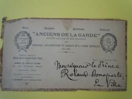 Pièce Autographe Prince Roland BONAPARTE (1858-1924) Géographe Et Botaniste - Autographs