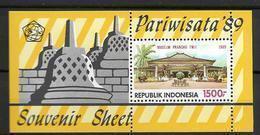 1989 MNH Indonesia Block 69, Postfris** - Indonesia