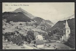Carte P De 1913 ( Le Sépey Et Pic Chaussy ) - VD Waadt