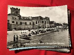 NA177 Forio D'Ischia - Pensioni E Spiaggia Viste Dal Mare - Napoli (Naples)