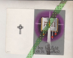 August Bernaerts-Ribbens, Kalmthout 1890, Sint Mariaburg - Ekeren 1965. Oud-strijder 14-18 - Obituary Notices