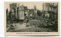 CPA   59 : VALENCIENNES   Rue  Des Récollets   A  VOIR   !!!! - Valenciennes