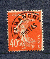 TIMBRES FRANCE REF090321, TIMBRE PREOBLITERE N° 64 ... LUXE** - 1893-1947