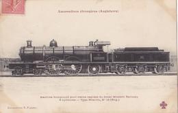 Trains (Chemins De Fer) - Locomotives étrangères - Angleterre - 12 - Eisenbahnen
